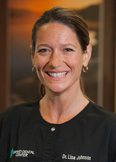 Dr. Lisa Johnson, DDS of Grand Dental Center in Grand Rapids, MN.