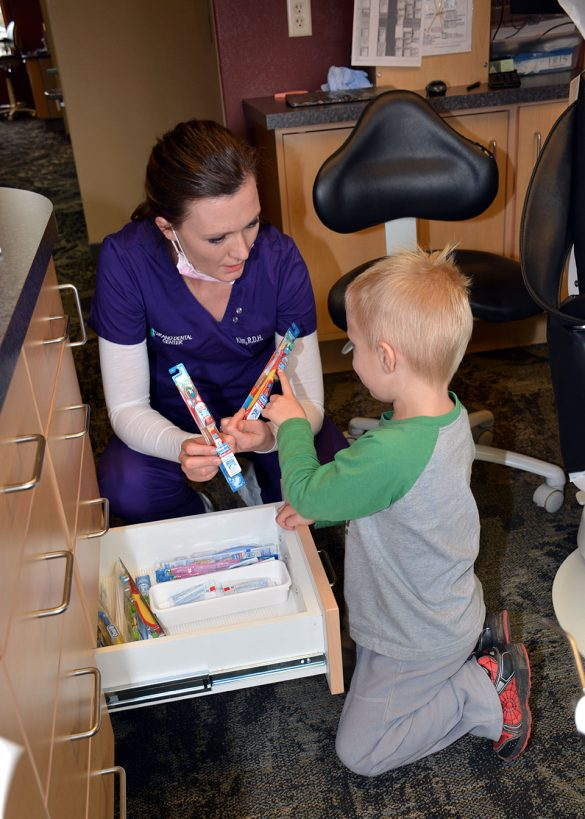 Grand Dental Center care for the dental health of children of all ages.