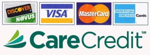Grand Dental Center Accepts Major Credit Cards and CareCredit for payment.